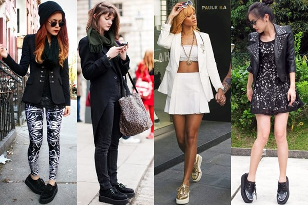 How and What to Wear with A Pair of Creepers (Shoes) – Part 1 .