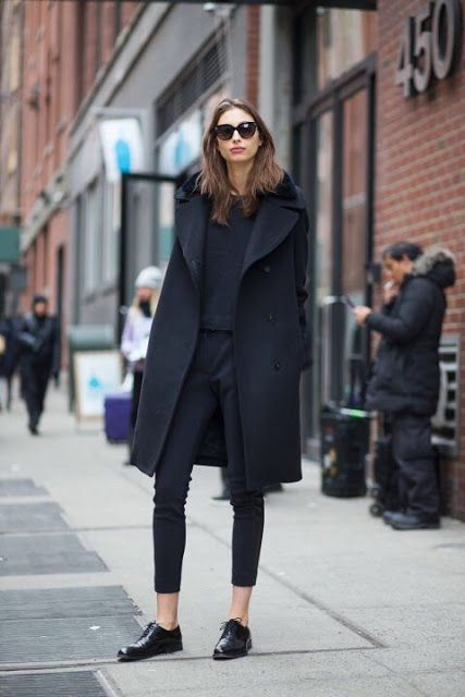 Chic and Silk: STREET STYLE: Oxfords Shoes. 100 Outfits Μας .