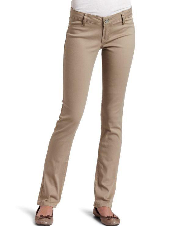 What To Wear With Khaki Pants | Khaki pants women, Straight pants .