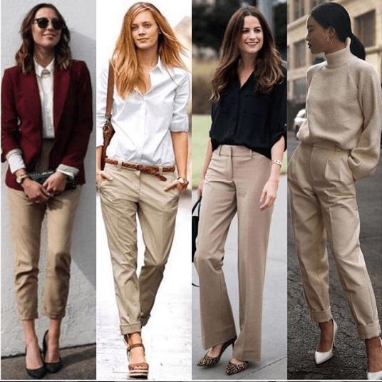 Women Shoes With Khaki Pants-16 Best Footwear For Khaki Pan