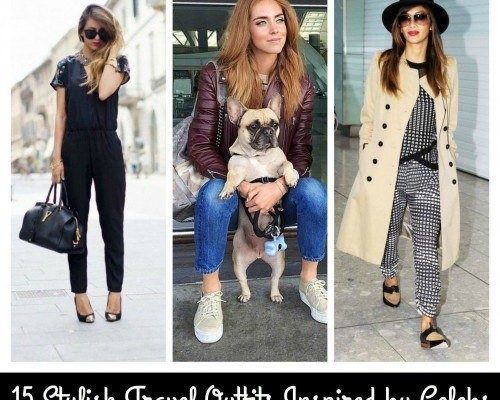 Women's Outfits for Airport-15 Ways to Travel Like Celebrity | Beau