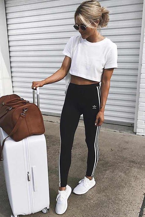 36 Adidas Pants Outfit Ideas: Super Combo Of Comfort And Beauty .