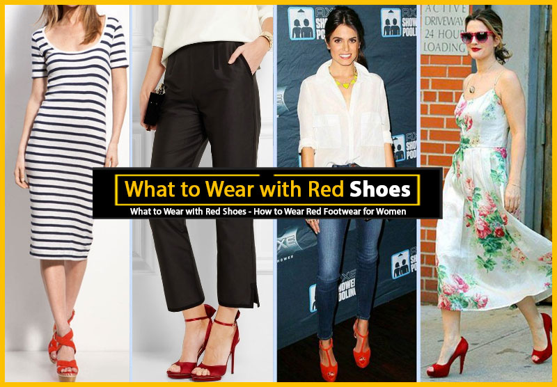 Want to Add Instant Pop to Any Outfit? Here's How to Wear Red Sho